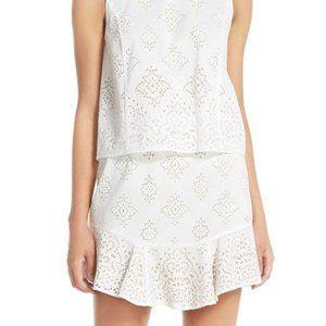 BCBG Maxaria Vivian Crochet open back Dress NWT